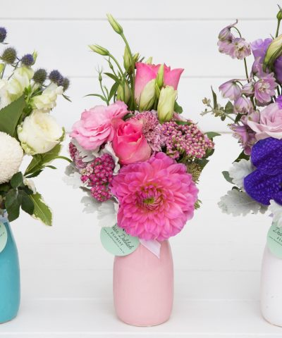 Milk Bottle | Dear Delilah Florist, Latrobe Valley