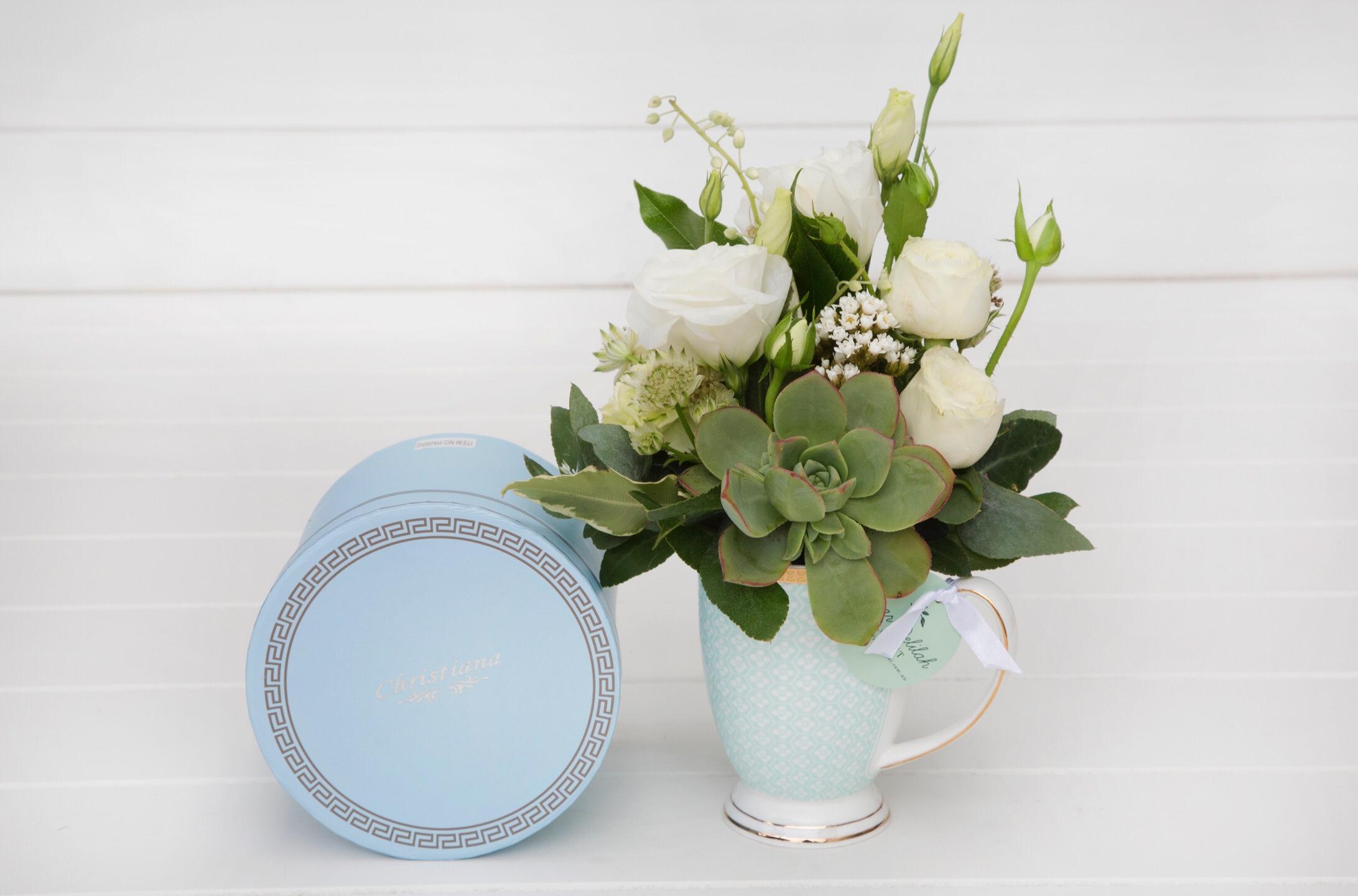 Dream in Floral Mug | Dear Delilah Florist, Latrobe Valley