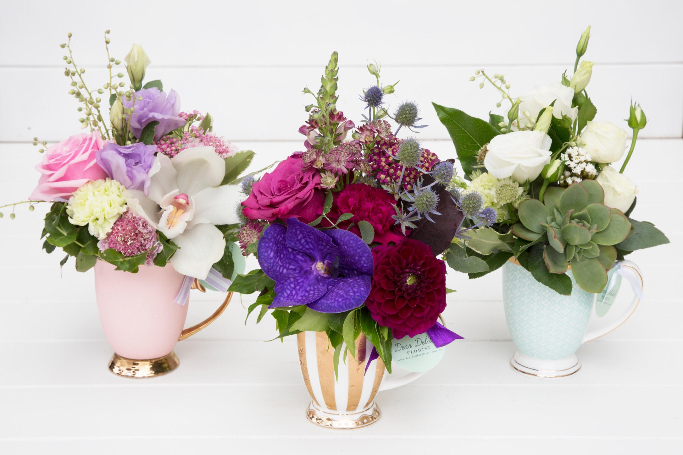 Dream in Floral Mug | Dear Delilah Florist, Latrobe Valley