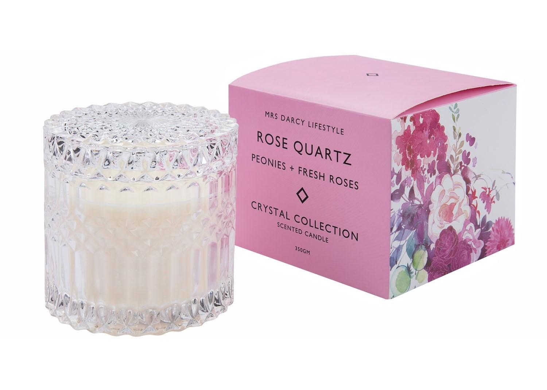Candle Rose Quartz Dear Delilah Florist